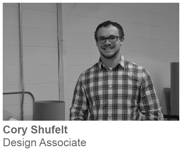 Cory Shufelt, Design Associate