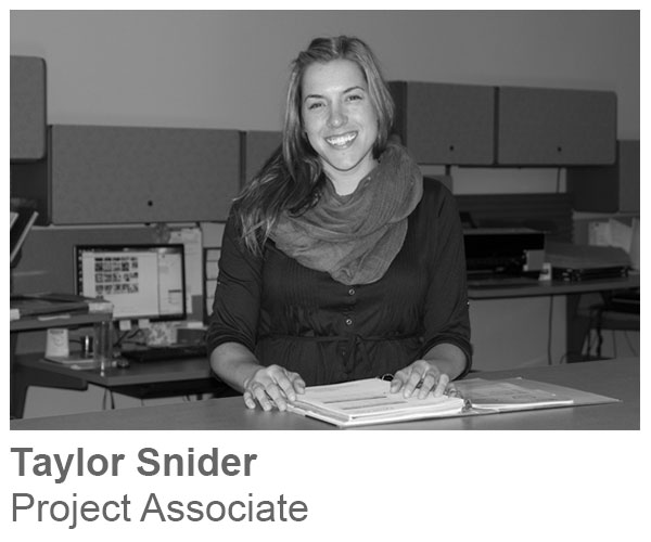 Taylor Sweetman, Project Associate