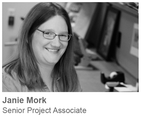Janie Mork, Senior Project Associate