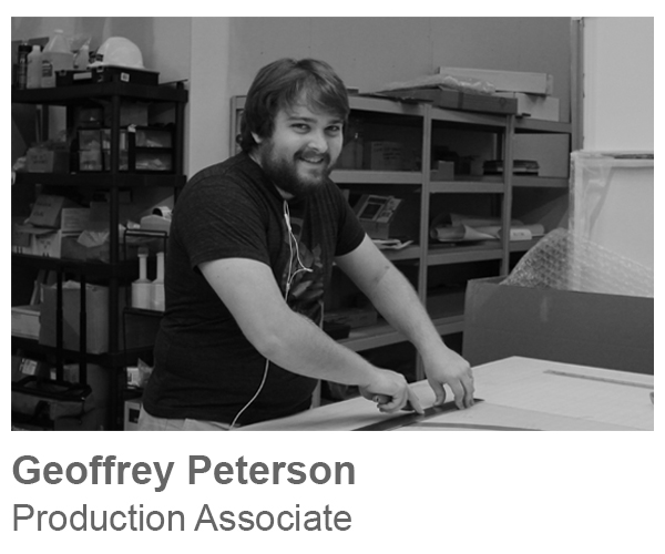 Geoff Peterson, Production Associate