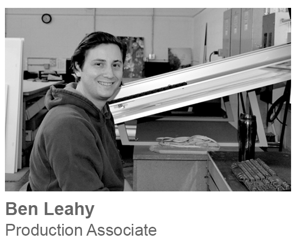 Ben Leahy, Production Associate