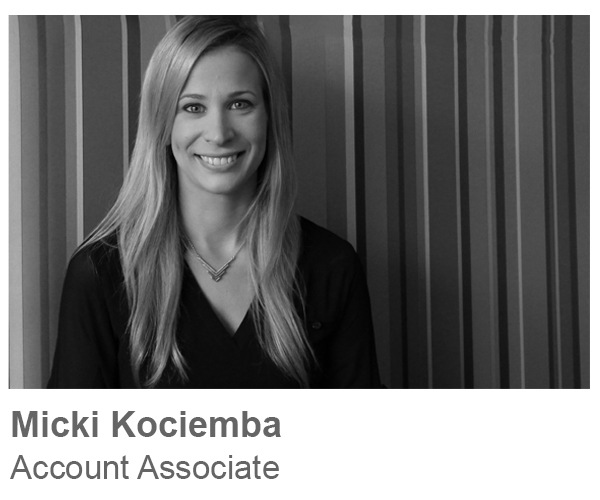 Micki Kociemba, Account Associate