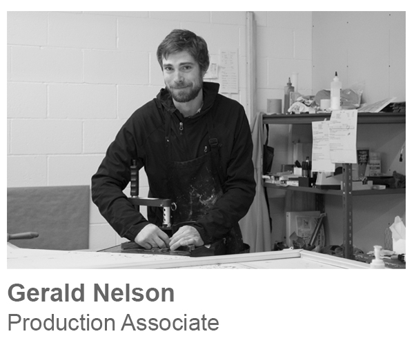 Gerald Nelson, Production Associate