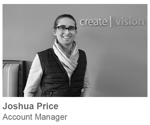 Joshua Price, Account Manager