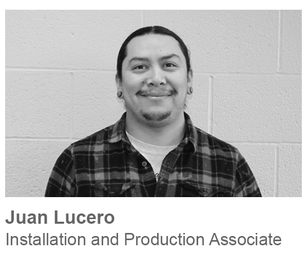 Juan Lucero, Installation and Production Associate