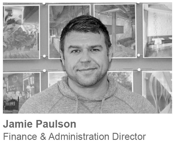 Jamie Paulson, Finance & Administration Director