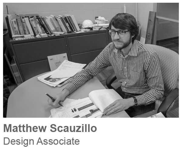 Matthew Scauzillo, Deign Associate