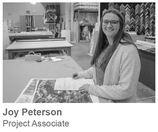 Joy Peterson, Project Associate