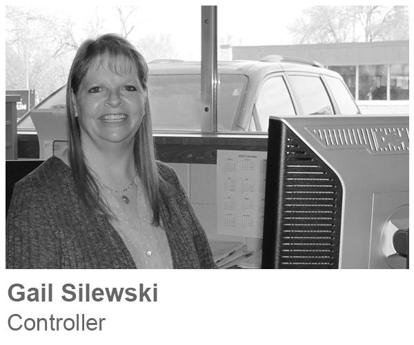 Gail Silewski, Controller